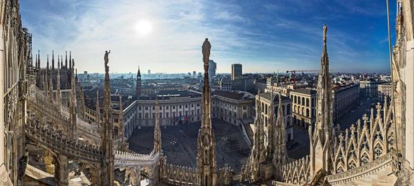 Prenota il tour privato alle Terrazze del Duomo di Milano