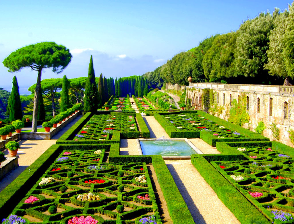 Prenota il tour in bus ai giardini vaticani - Foto giardini ville ...