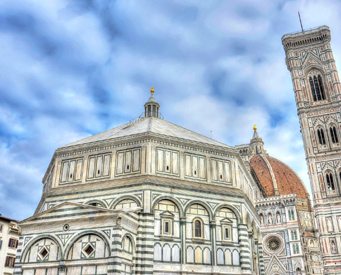 Group tour of Florence Duomo complex